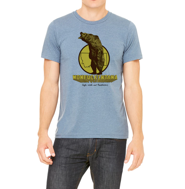 Montana Tee - Men's Grizzly