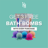 3X FREE MYSTERY MINI CBD BATH BOMB BY KUSH QUEEN