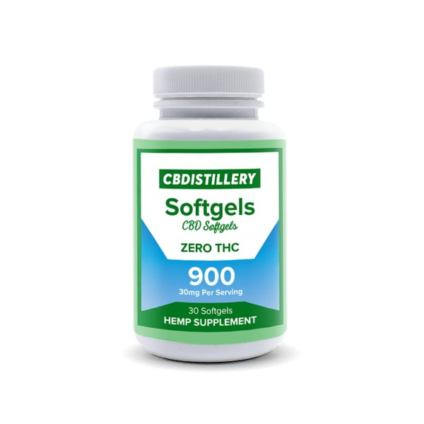CBD Isolate Softgels – 30mg