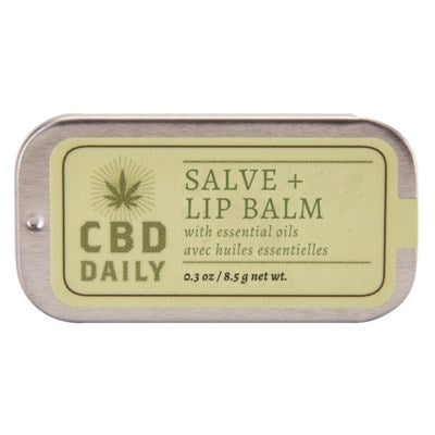 CBD Salve + Lip Balm