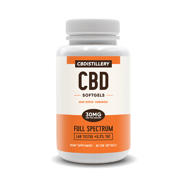 Full-Spectrum CBD Infused Softgels - 30mg