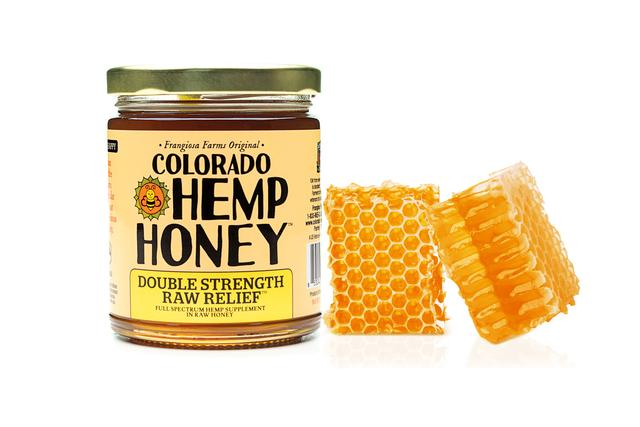 Double-Strength Raw Relief Hemp Honey