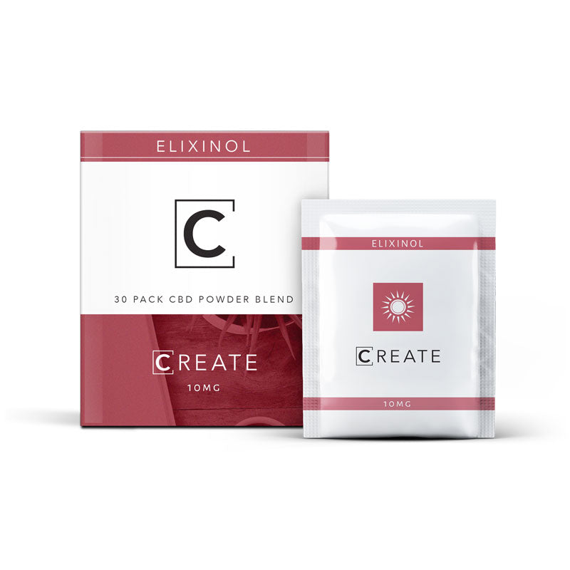 CREATE CBD Drink Powder - Berry (30 Pack)