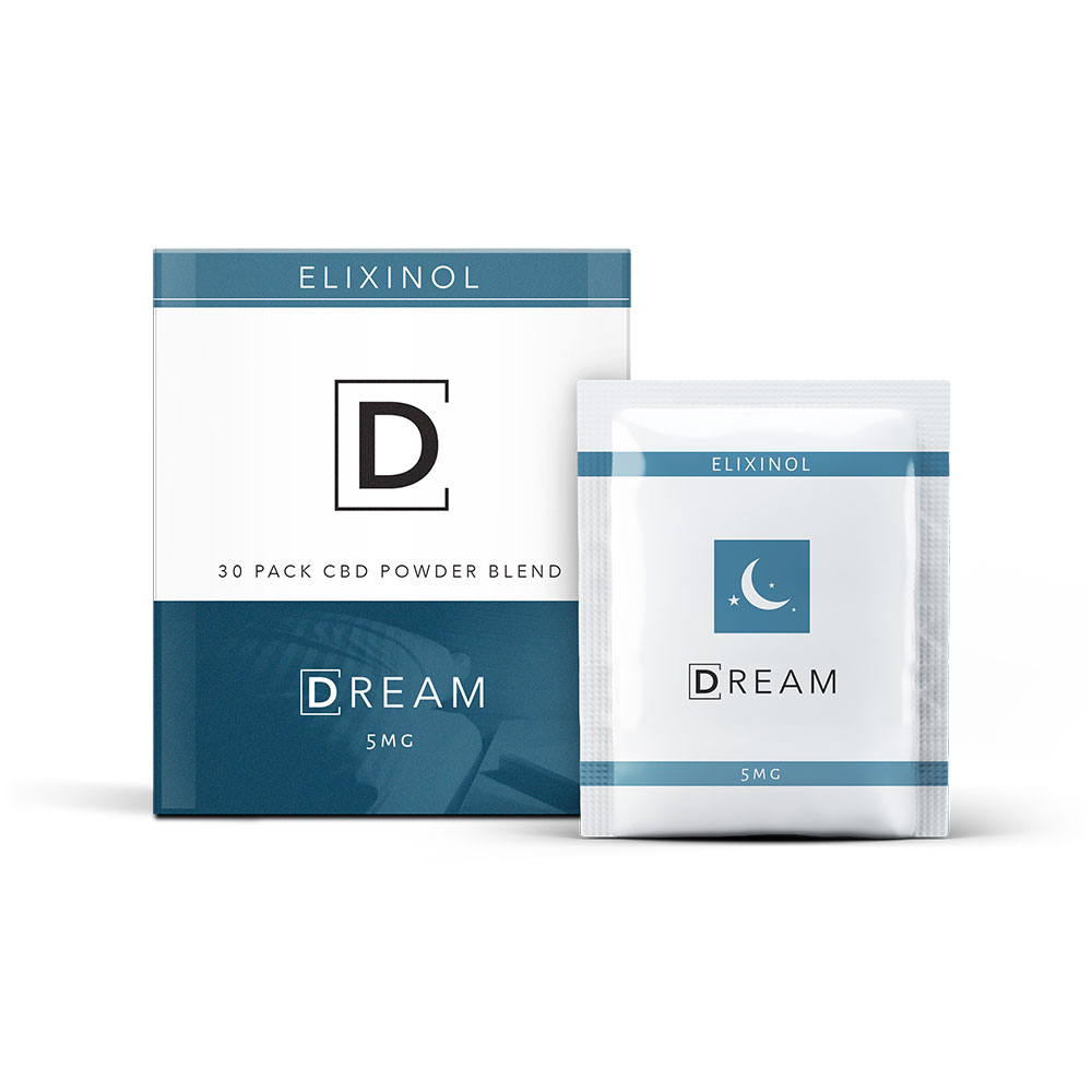 DREAM CBD Drink Powder - Cocoa (30 Pack)