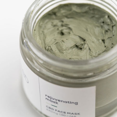 Rejuvenating CBD Face Mask