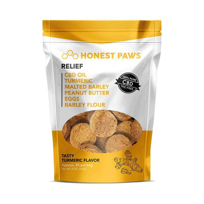 Relief - Tasty Tumeric CBD Dog Treats
