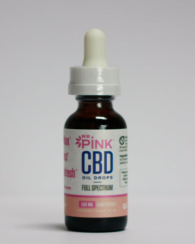 CBD Oil Drops - Orange Cream