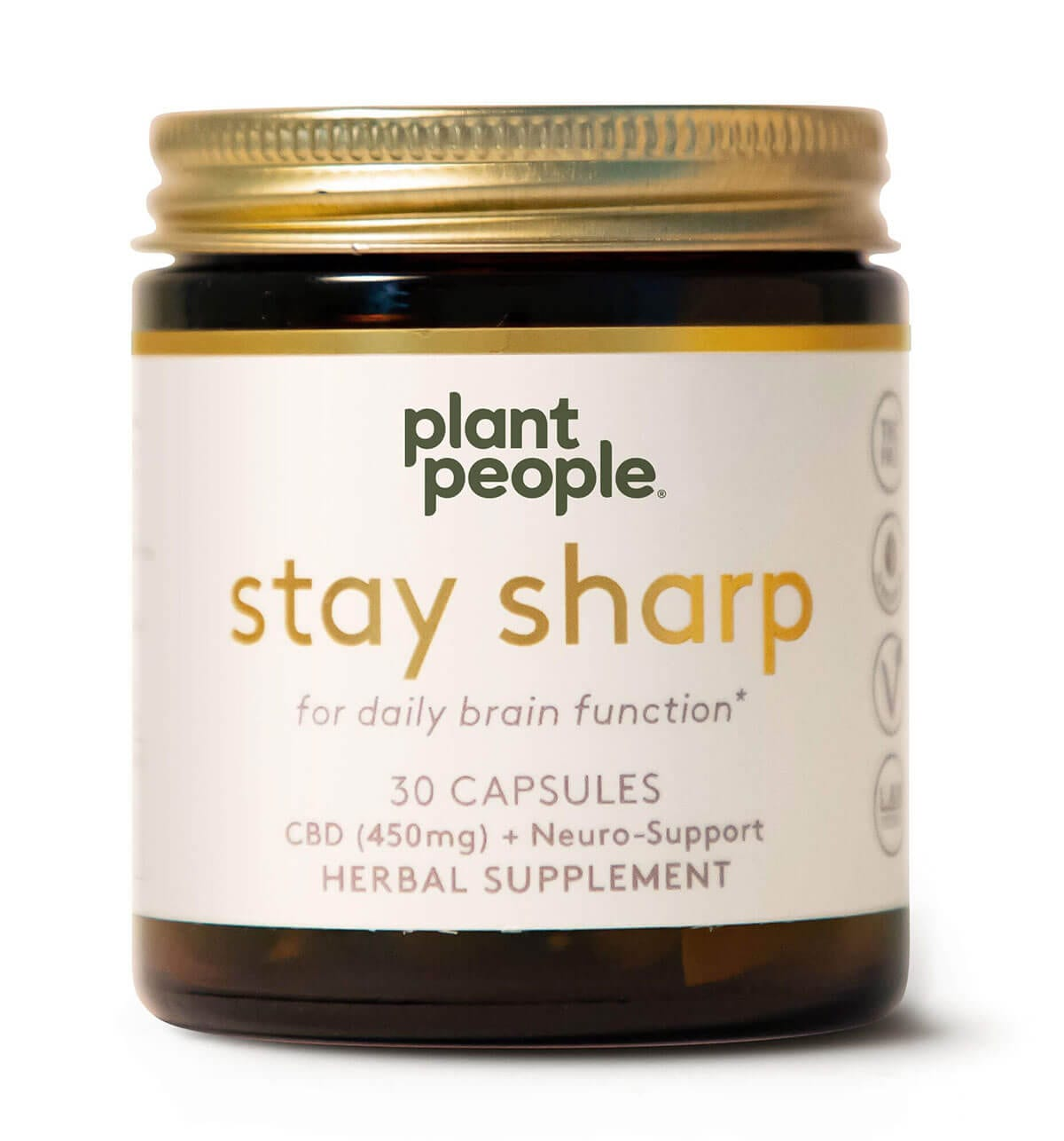 Stay Sharp CBD Capsules