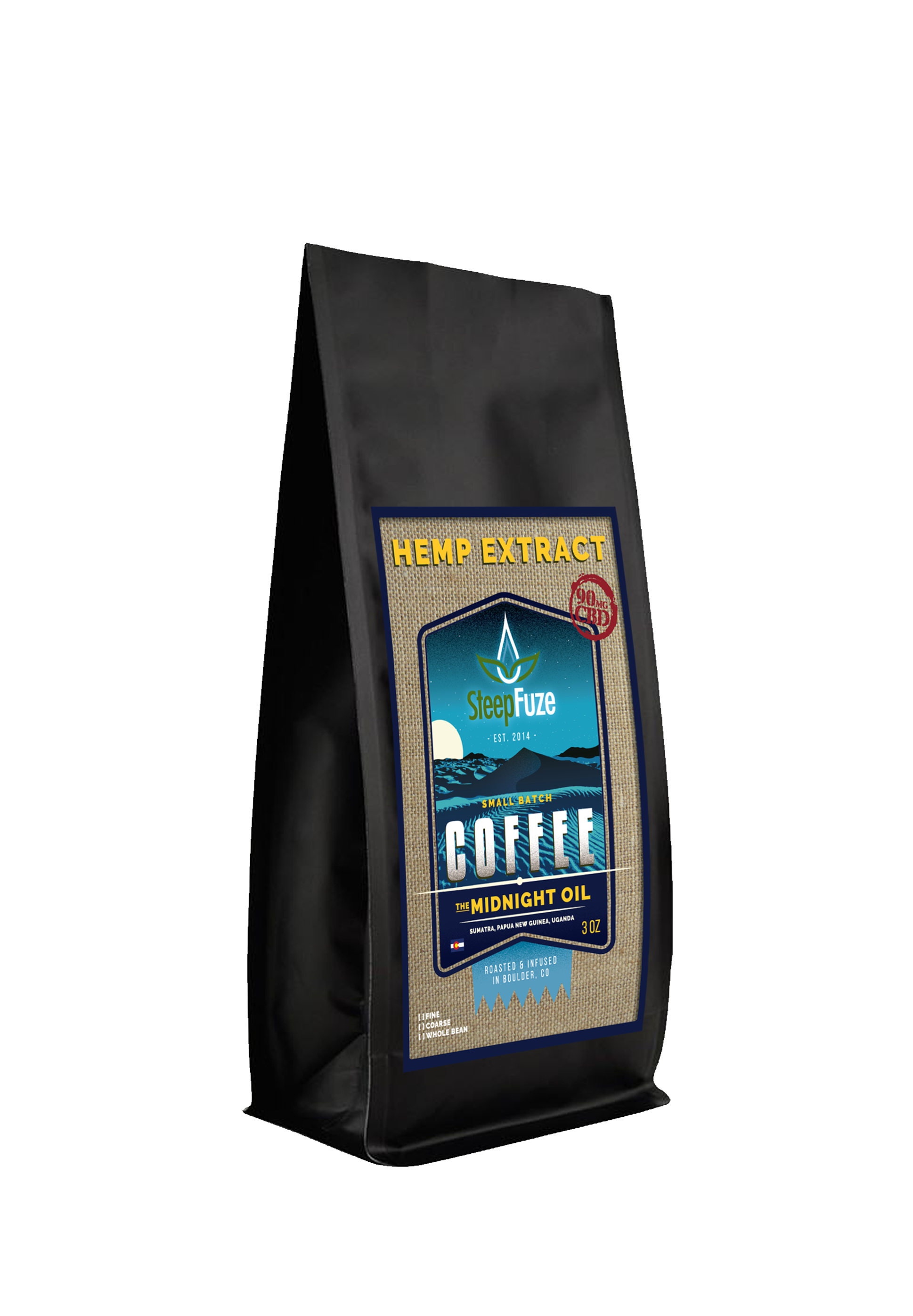 Midnight Oil Blend - Hemp-Infused Coffee