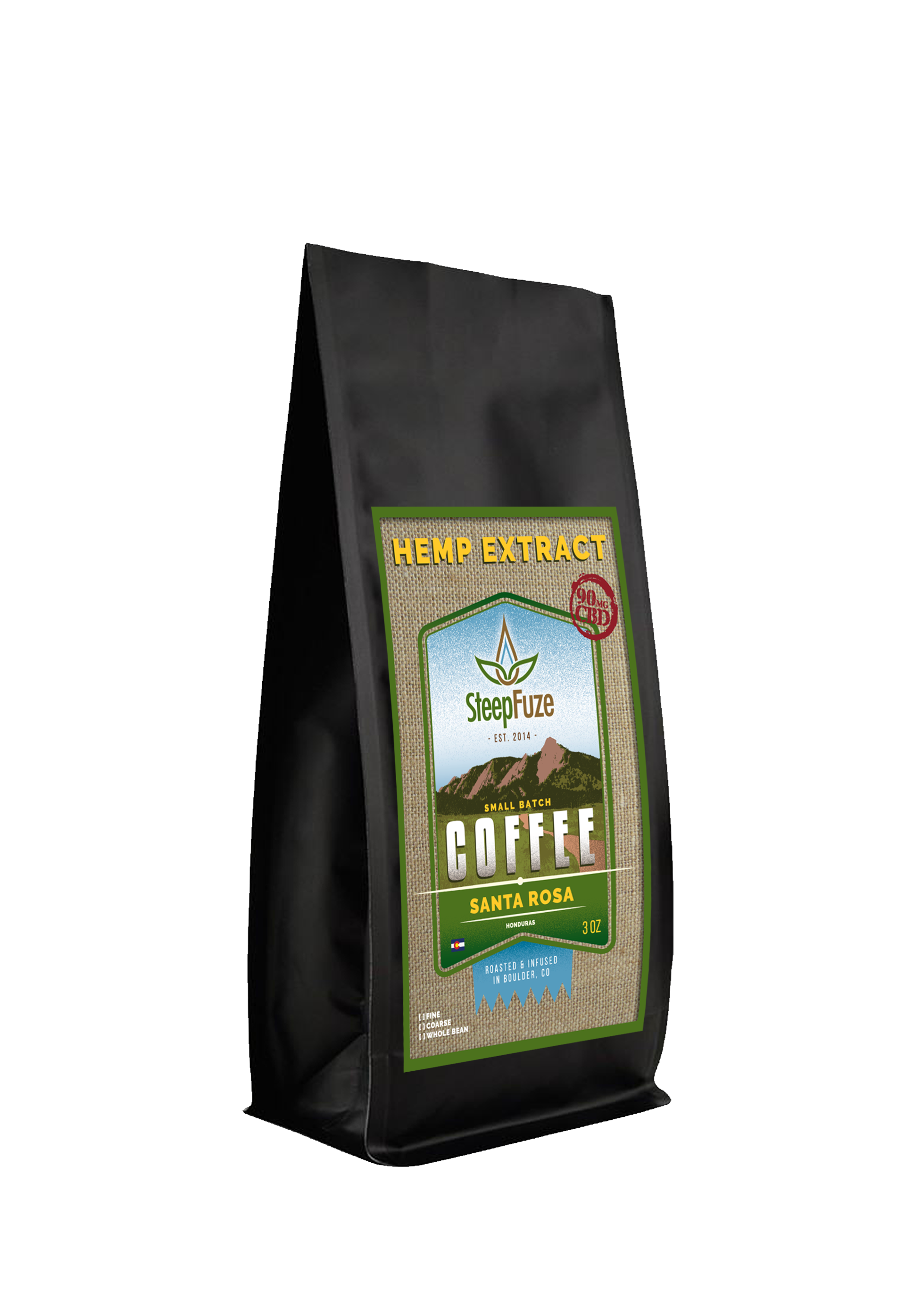 Santa Rosa Blend - Hemp-Infused Coffee