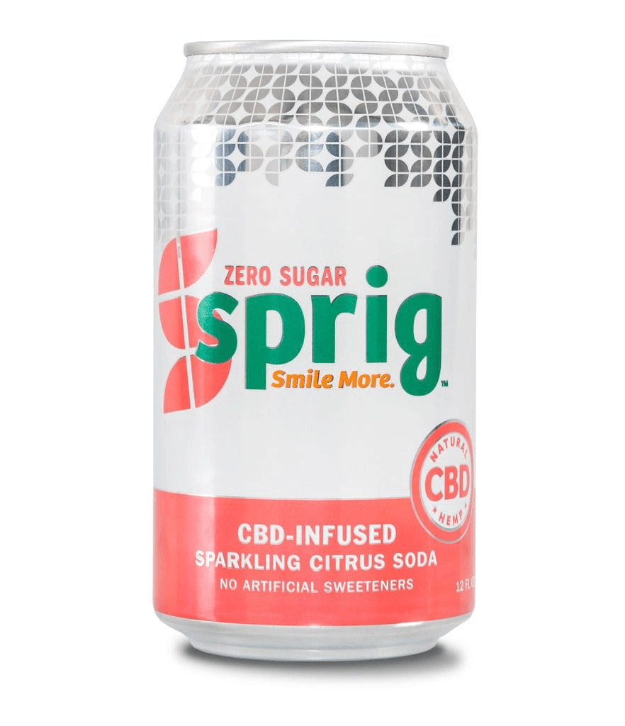 Zero-Sugar CBD Soda
