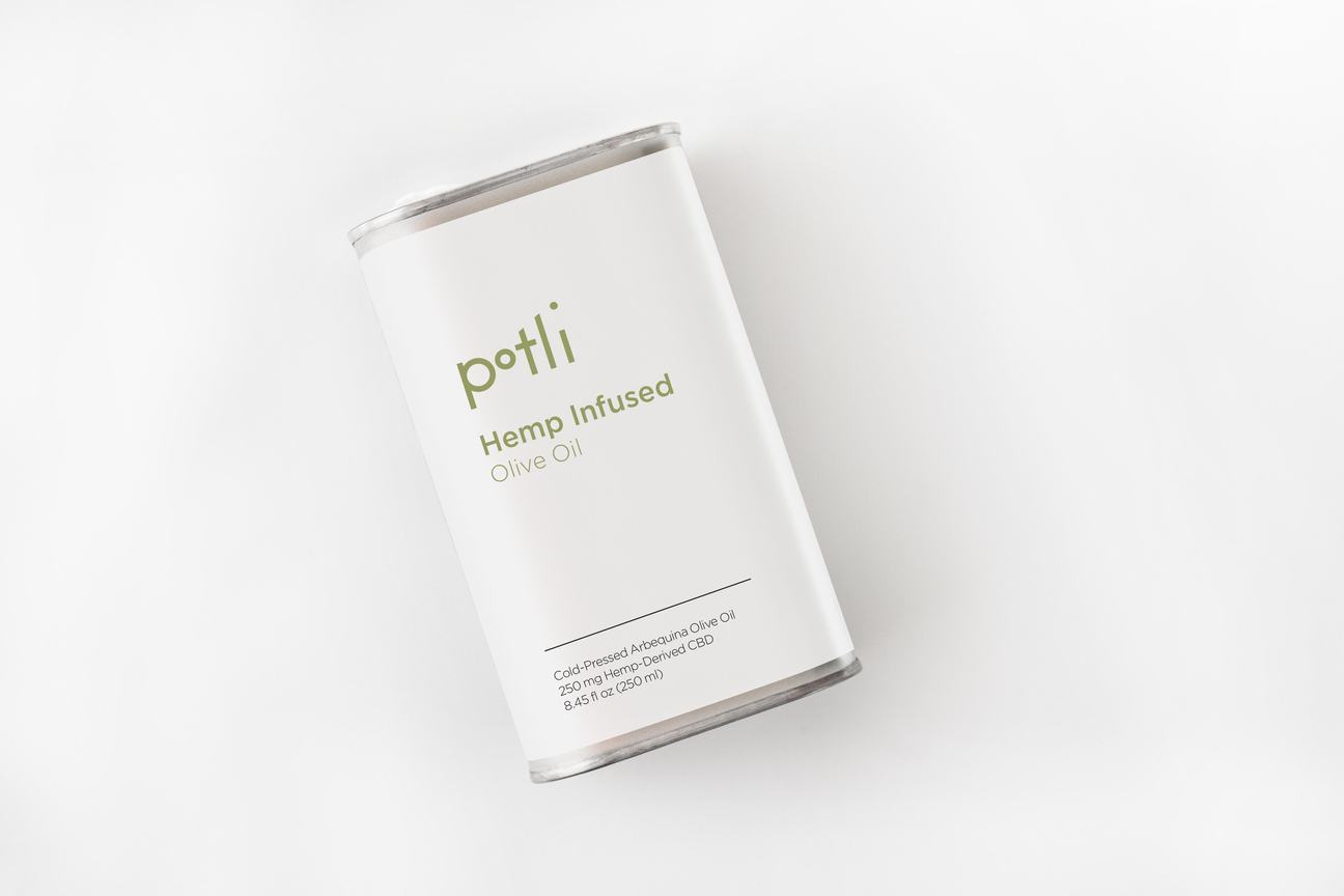 Potli Hemp Infused Cold Pressed EVOO