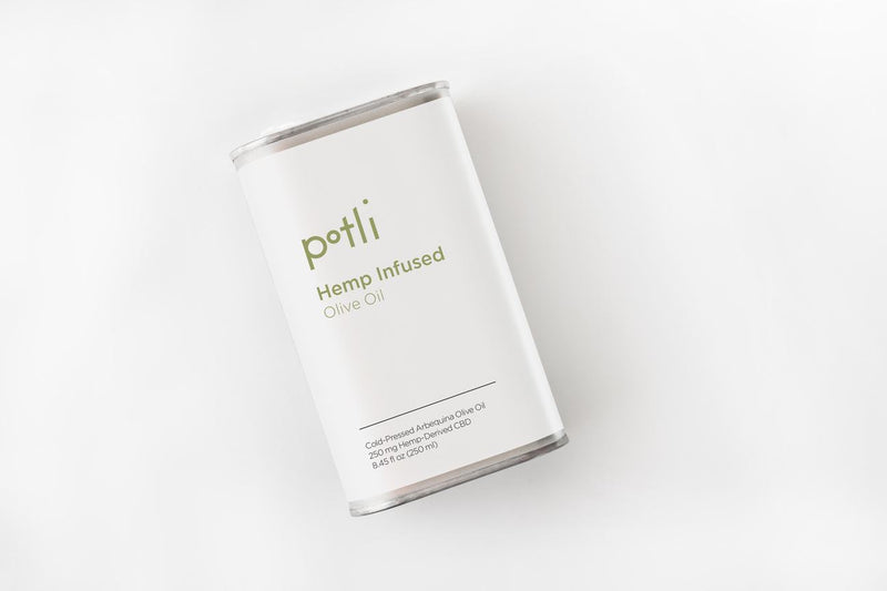 Hemp-Infused Cold-Pressed EVOO
