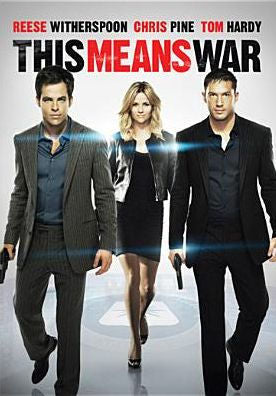 'This Means War' DVD
