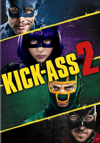 'Kick-Ass 2' DVD