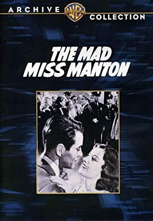 'Mad Miss Manton' DVD-r
