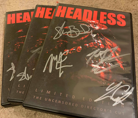 'Headless' Limited Edition DVD