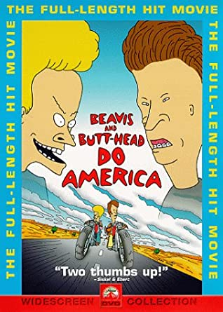 'Beavis and Butt-Head Do America' DVD