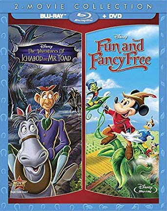 'Adventures of Ichabod and Mr Toad/Fun and Fancy Free' Blu-ray/DVD