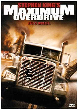 'Maximum Overdrive' DVD