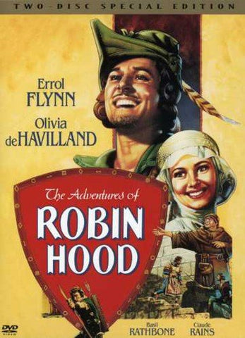 'Adventures of Robin Hood' DVD