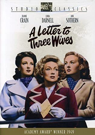 'Letter to Three Wives' DVD