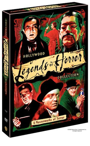 'Hollywood Legends of Horror Collection' DVD Box