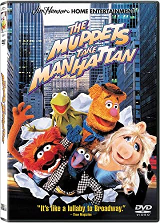 'Muppets Take Manhattan' DVD