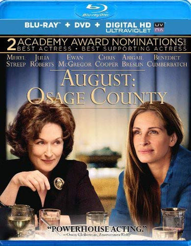 'August: Osage County' Blu-ray/DVD Combo