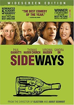 'Sideways' DVD