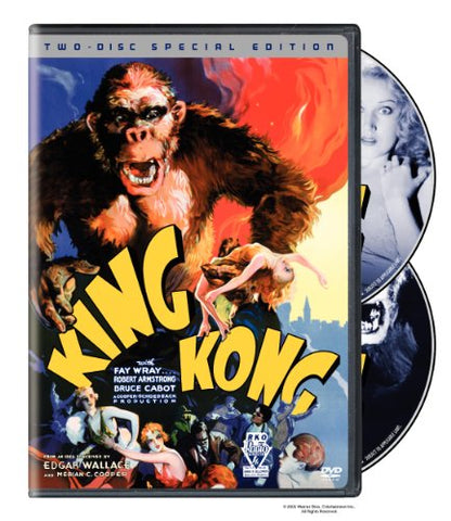 'King Kong' DVD