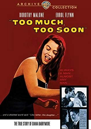 'Too Much, Too Soon' DVD