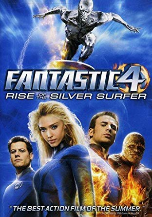 'Fantastic 4 Rise of the Silver Surfer' DVD