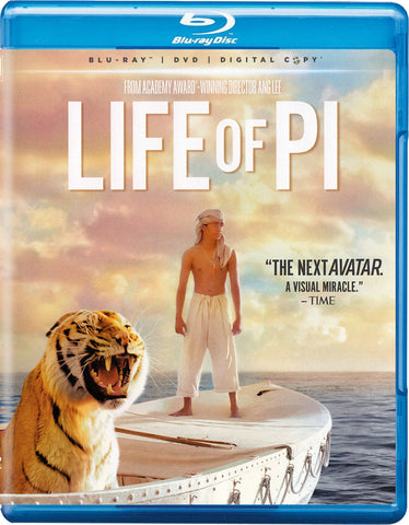 'Life of Pi' Blu-ray/DVD
