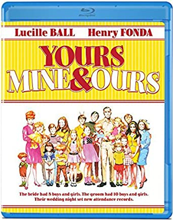'Yours, Mine and Ours' Blu-ray