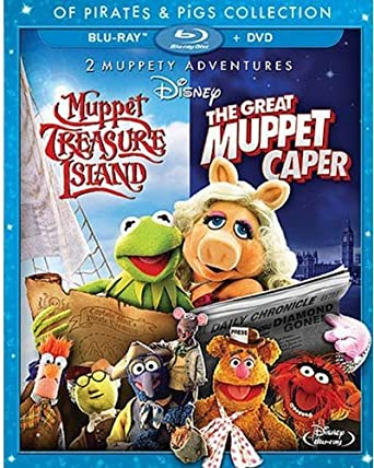 'Muppet Treasure Island/Great Muppet Caper' Blu-ray/DVD