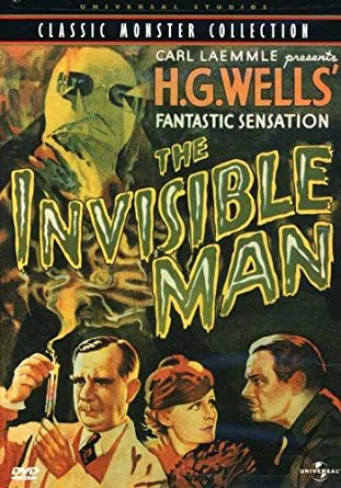 'Invisible Man' DVD