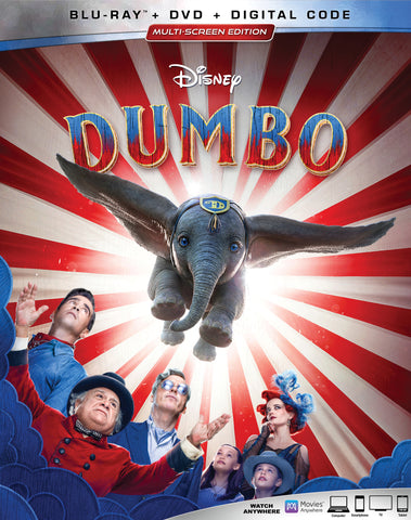 'Dumbo' DVD/Blu-ray