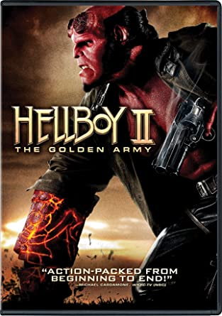 'Hellboy II: The Golden Army' DVD