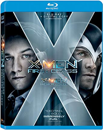 'X-Men: First Class' Blu-ray