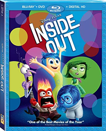 'Inside Out' Blu-ray/DVD