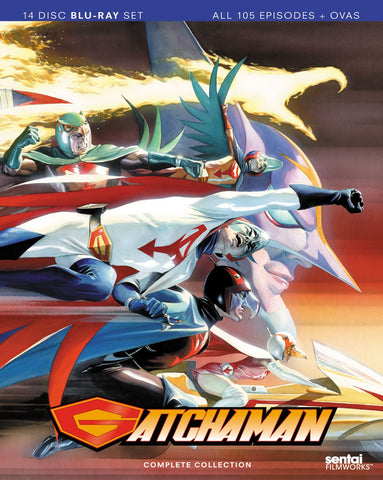 'Gatchaman' Complete Series Blu-ray Box