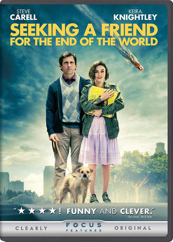 'Seeking a Friend for the End of the World' DVD