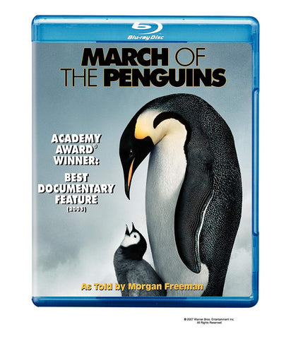 'March of the Penguins' Blu-ray