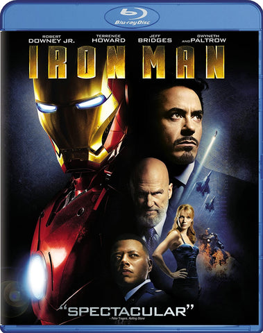'Iron Man' Blu-ray