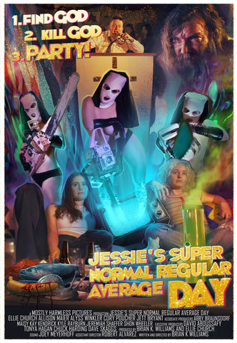 'Jessie's Super Normal Regular Average Day' Poster