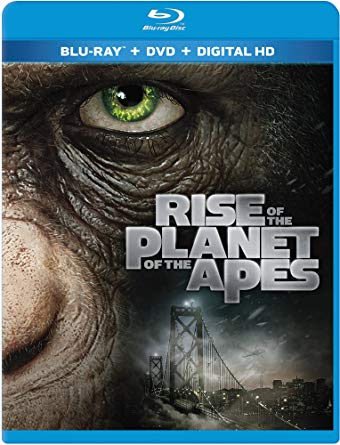 'Rise of the Planet of the Apes' Blu-ray