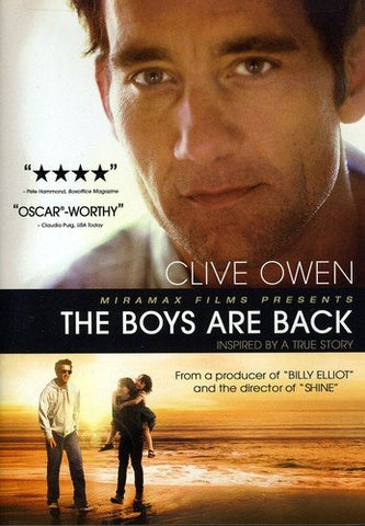 'Boys Are Back' DVD