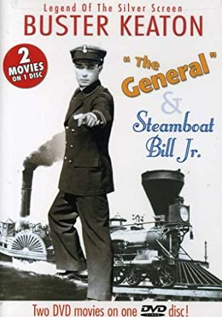 Buster Keaton: 'General' & Steamboat Bill Jr' DVD