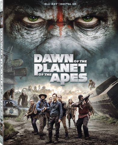'Dawn of the Planet of the Apes' Blu-ray